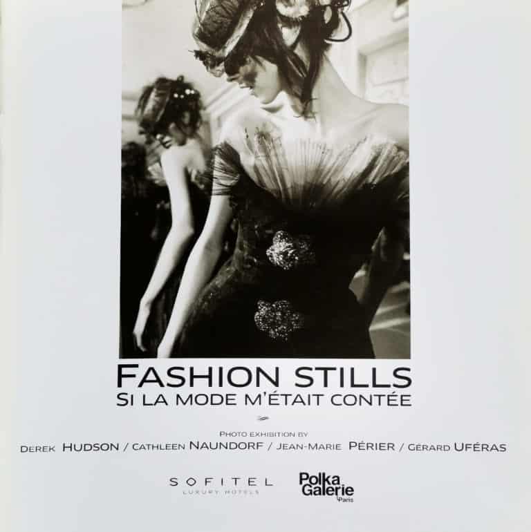 Book Cover - Fashion Stills, Sofitel worldwide exhibition, 2010